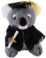 Graduation Koala 18cm - Bill