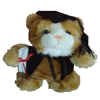 Graduation Cat 24cm 'Zachariah' - Bulk Discounts