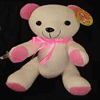 Message Bear 46cm - Pink